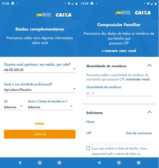 App Caixa Auxílio