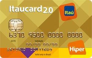 Cartão Itaucard Hiper