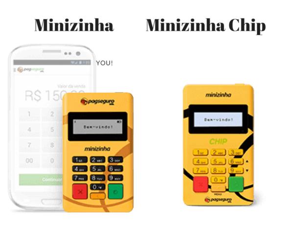 Comparativo Minizinha x Minizinha Chip