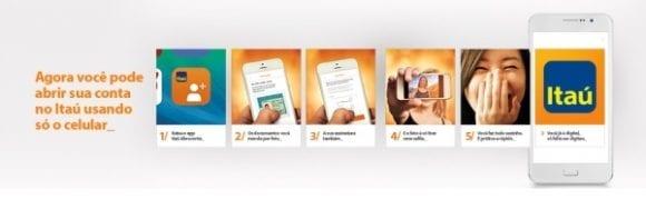 Como abrir uma conta Itaú Digital Online, sem ir à agência?