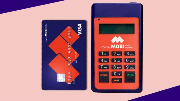 Maquina de cartão Mobi