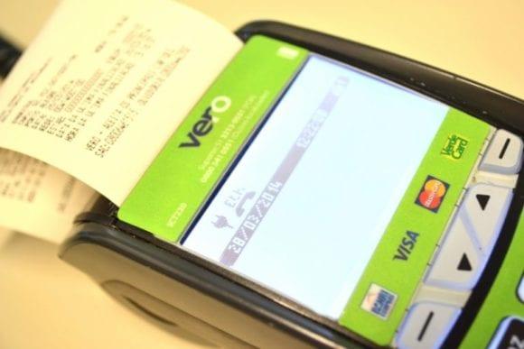 Maquina de cartão Vero