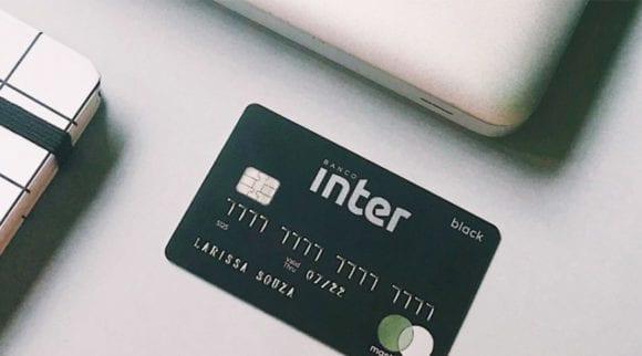 Cartão Mastercard Black Inter.