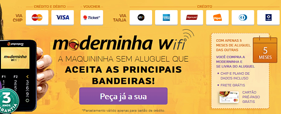 Moderninha wi fi