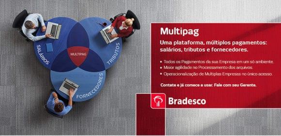 Saiba como utilizar o Multipag Bradesco