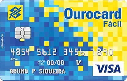 Ourocard Fácil: O cartão de crédito sem anuidade do BB