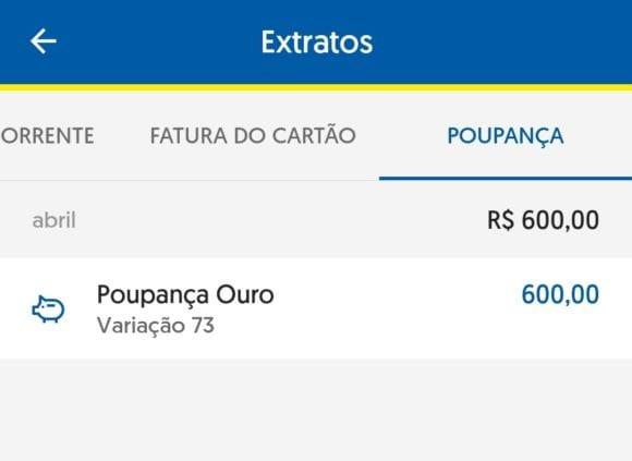 O Que é Poupança Variação 73, no Banco do Brasil?