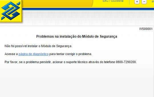 Como instalar o Módulo de Segurança do Banco do Brasil