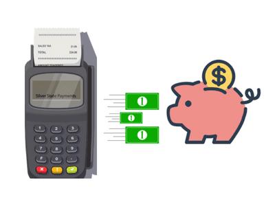 Quais máquinas pagam em conta poupança