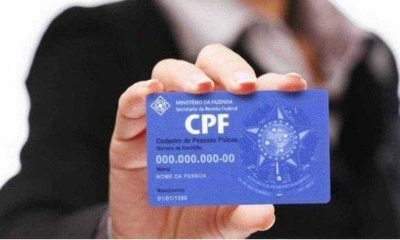 Regularização do CPF