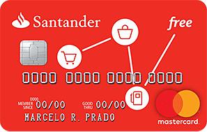 Cartão de crédito Santander Free: como pedir o seu sem anuidade
