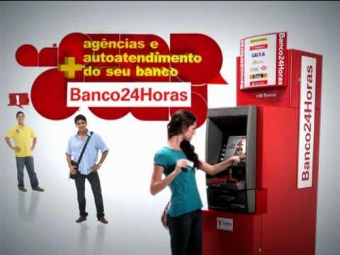 Veja quanto custa sacar dinheiro no Banco24Horas