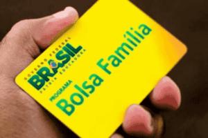 Foto do cartão Bolsa Família simbolizando o tema calendário de saques do Bolsa Família