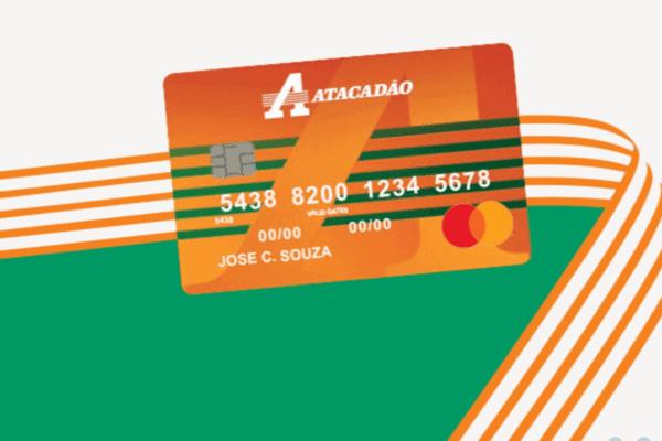 Ilustração do Cartão Atacadão