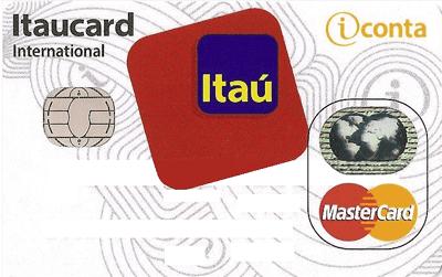 Cartão de crédito e débito da iConta