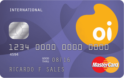 Cartão Oi Internacional Mastercard