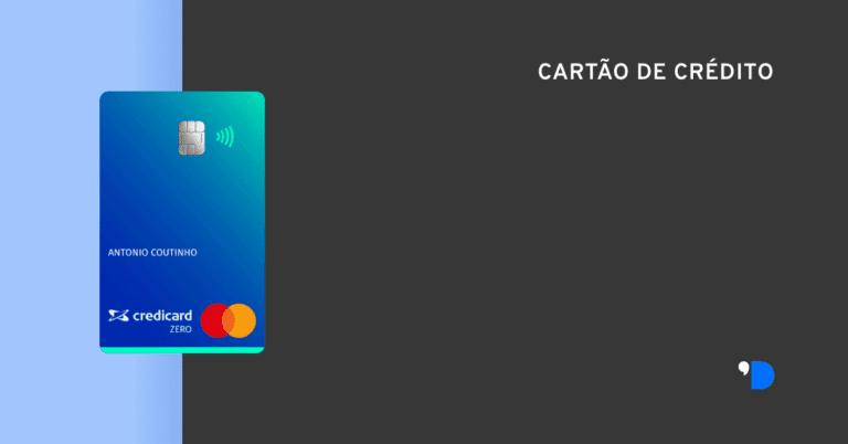 cartao credicard zero