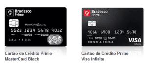 Cartões Bradesco Prime