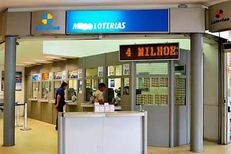 Lotérica aceita depósito em cheque?