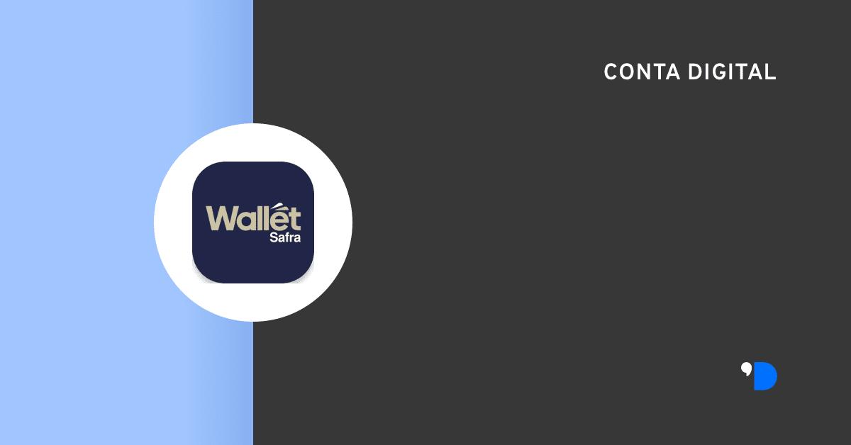 conta digital safrawallet