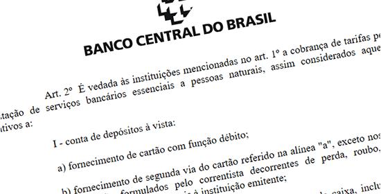 Resolução do Banco Central