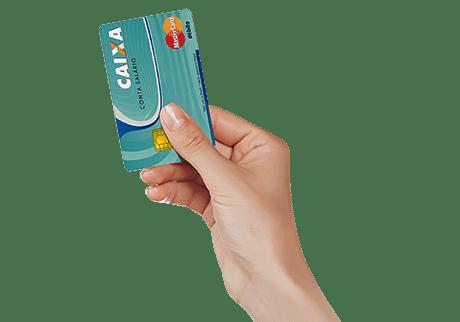 Cartão para movimentação da Conta-Salário CAIXA