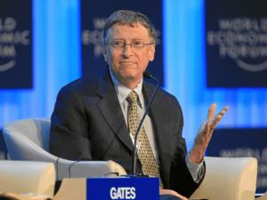 Foto de Bill Gates, um dos grandes empreendedores de sucesso do mundo
