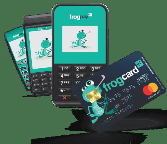 Maquinas de cartão FrogPay