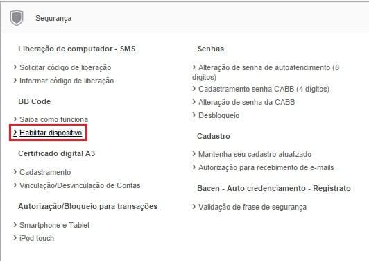 Como Funciona o BB Code do Banco do Brasil