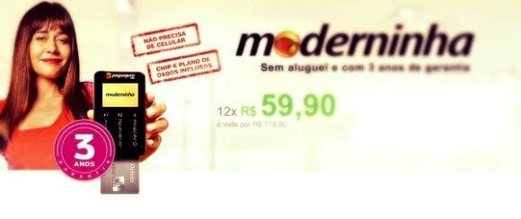 Moderninha como adquirir