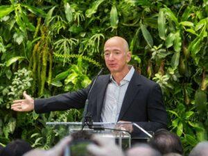 Foto de Jeff Bezos para representar o tema Homens mais ricos do mundo