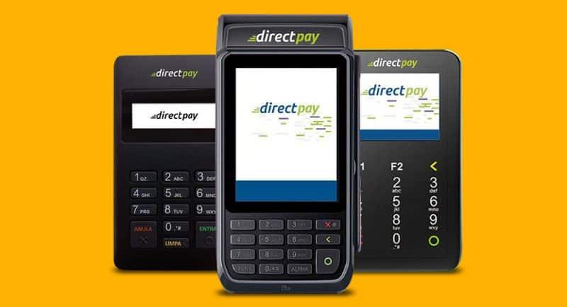 maquinas de cartão DirectPay