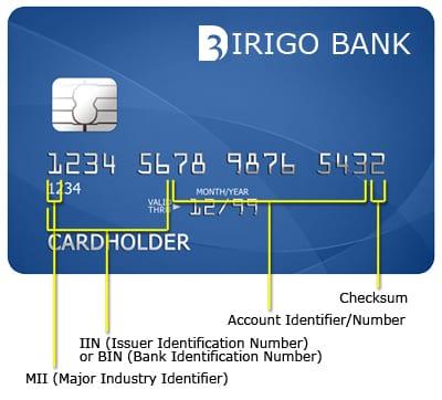 O que significa o número BIN do cartão de crédito?