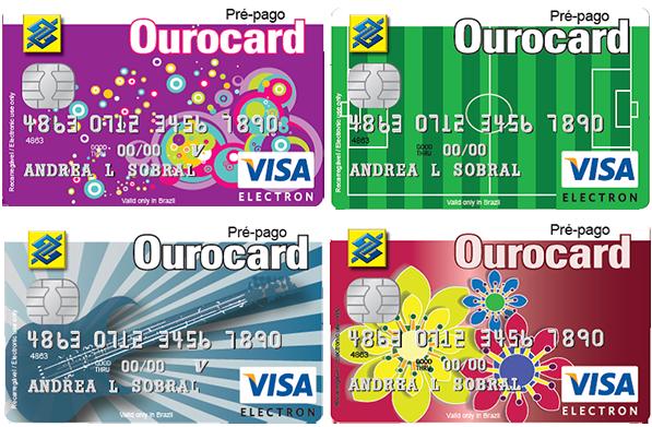 Os cartões pre-pagos são mais uma opção para quem não tem renda mensal