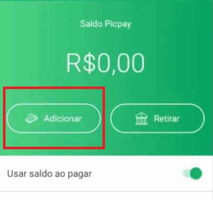 tela do app picpay para mostrar como gerar boleto