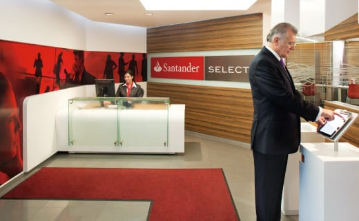 Santander Select – Renda, Cartões e Tarifas