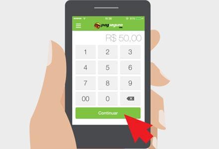 venda digitada aplicativo