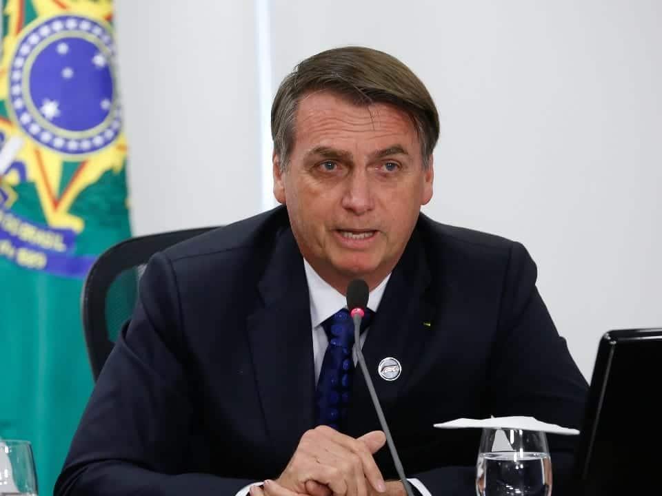 Imagem do presidente Bolsonaro simbolizando a notícia