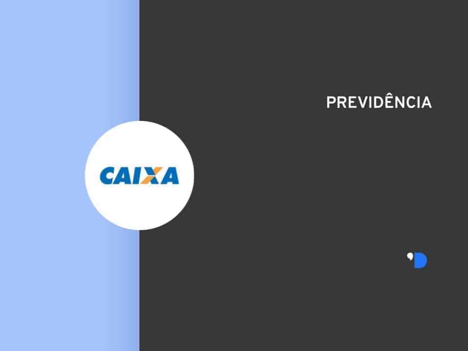 Imagem da logomarca da Caixa, simbolizando o produto Caixa Previdência