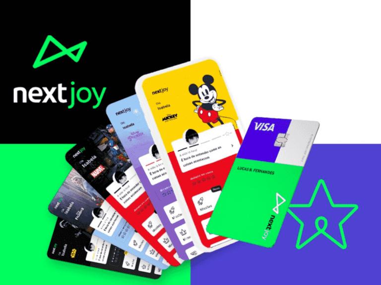 propaganda do nextjoy, conta digital para crianças