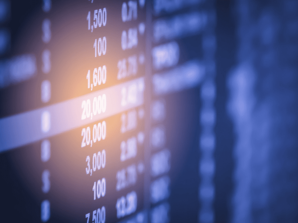 foto de tabela, representando Fundos de ações e long biased