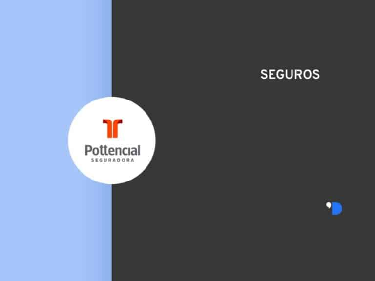 Imagem com a logomarca da Pottential Seguradora