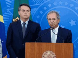 jair bolsonaro e paulo guedes, sem acordo sobre renda brasil