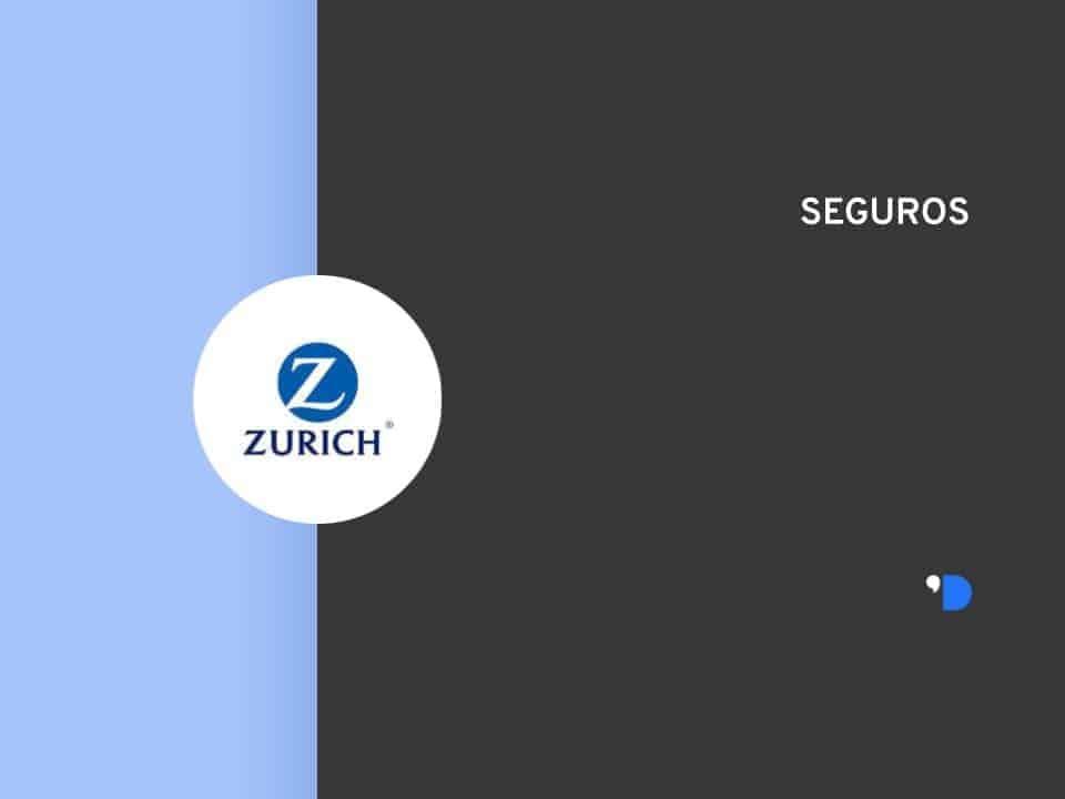 Imagem com a logomarca da Zurich Seguros