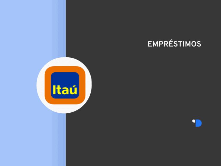 Imagem com a logomarca do Itaú representando o conteúdo sobre empréstimo com garantia de imóvel Itaú