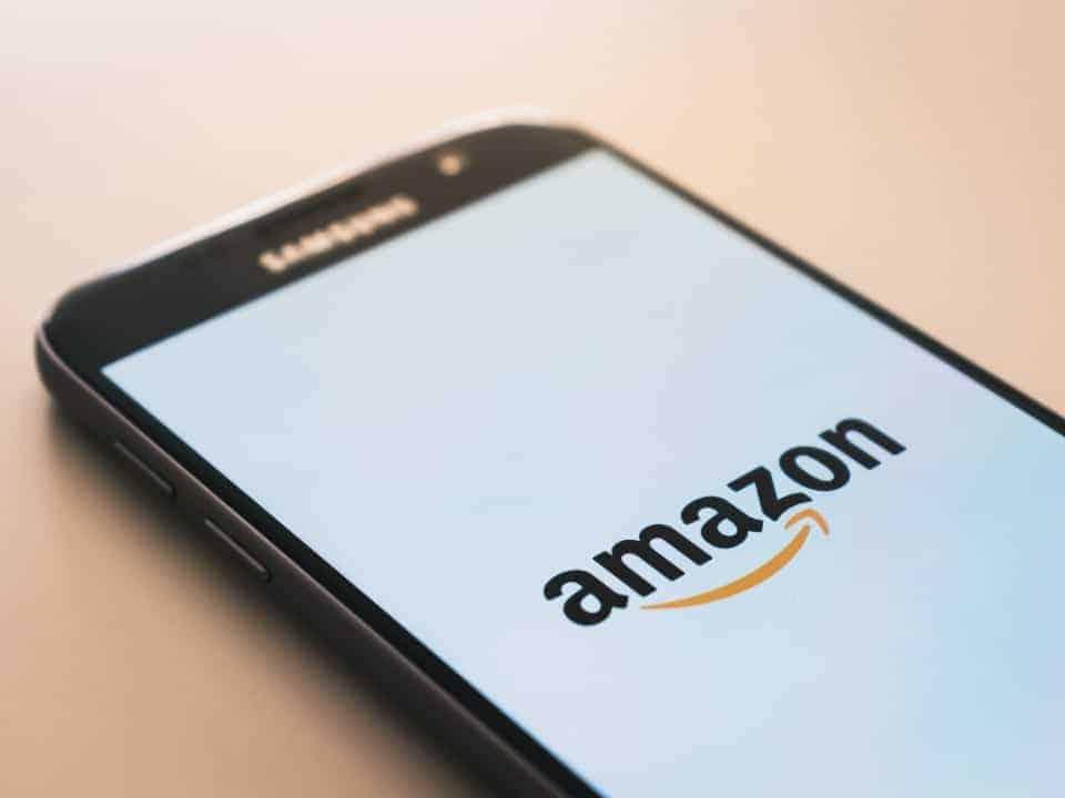 Imagem do app da Amazon representando o lançamento do Amazon Prime Channels