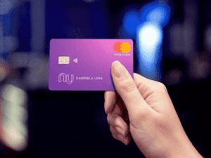 cartão nubank, representando análise de crédito do nubank