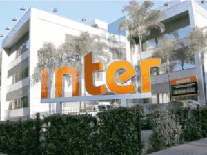 fachada do banco inter, representando aumento de capital do inter