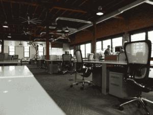 ambiente de trabalho, representando bnds garagem