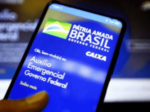 aplicativo do auxílio emergencial representando ciclo 2 junho